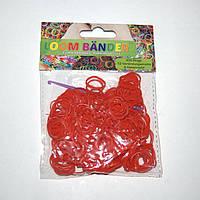 Набор резиночек для плетения Loom Bander 300шт. (красный)