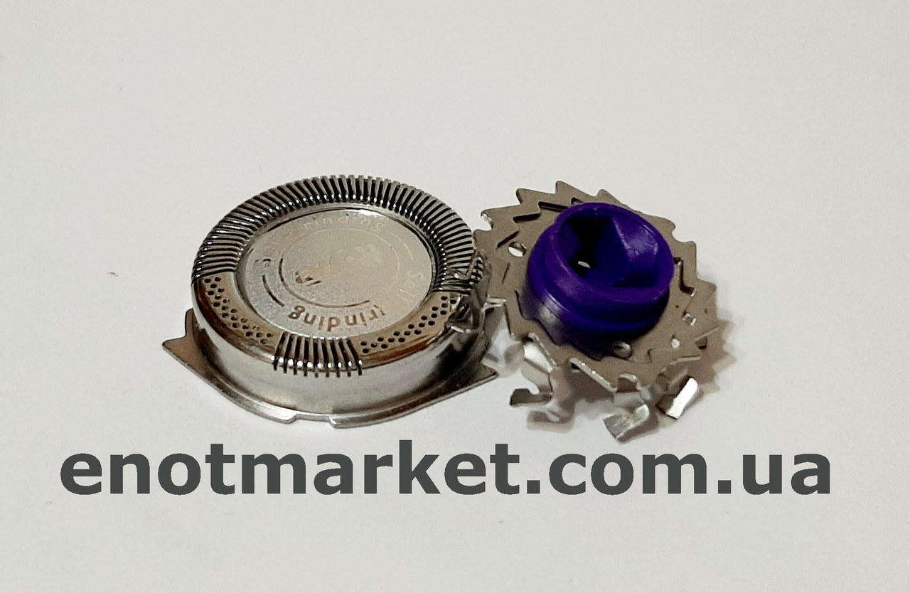 Бритвенная головка ножевая пара (комплект 1 сеточка +1 лезвие) электробритвы Philips (аналог) серии HQ, AT, PT