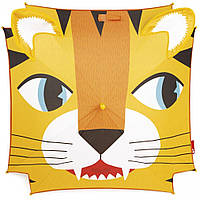 Детский зонт трость полуавтомат Janod Тигр желтый