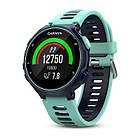 Смарт-годинник Garmin Forerunner 735XT Midnight Blue/Frost Blue Watch Only Бірюзовий/ Зелений, фото 5