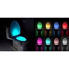 [ОПТ] Підсвічування для унітазу LED Light Bowl 8 кольорів з датчиком руху, фото 5