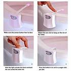 [ОПТ] Підсвічування для унітазу LED Light Bowl 8 кольорів з датчиком руху, фото 6