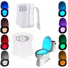 [ОПТ] Підсвічування для унітазу LED Light Bowl 8 кольорів з датчиком руху, фото 8