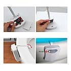 [ОПТ] Підсвічування для унітазу LED Light Bowl 8 кольорів з датчиком руху, фото 10
