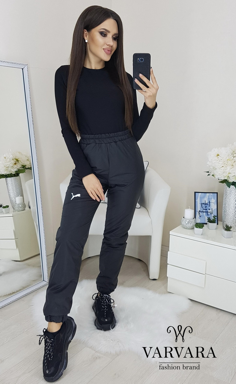 Женские теплые штаны вп237