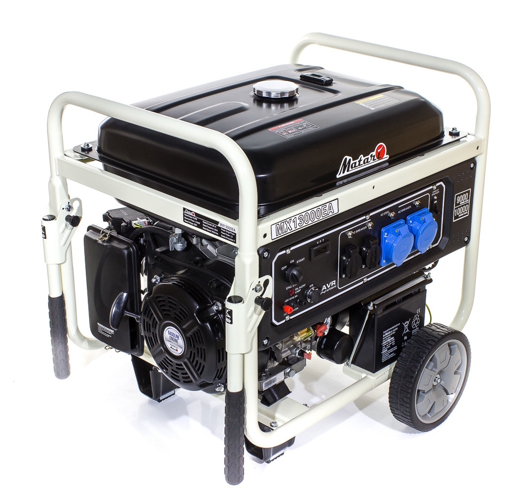 Однофазный бензиновый генератор Matari MX13000EA-ATS (10 кВт)