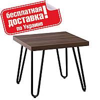 Журнальный столик C-150-2 Орех 50х50х50 см.