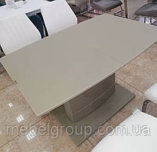 Стіл ТММ-50-1 матовий мокко 120/160x80, фото 3