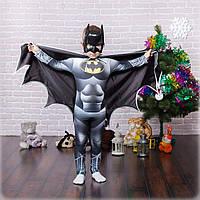 Детский карнавальный костюм персонажа мультфильма Бетмен