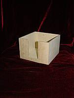Салфетница высокая (14,5 х 14,5 х 9,5 см)