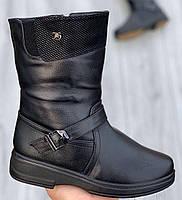 Ботинки женские зимние 8 пар в ящике черного цвета 37-42, фото 2