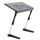 [ОПТ] Регульована підставка для ноутбука AirSpace з вентилятором. Стіл для ноутбука AirSpace з вентилятором, фото 3