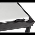 [ОПТ] Регульована підставка для ноутбука AirSpace з вентилятором. Стіл для ноутбука AirSpace з вентилятором, фото 5