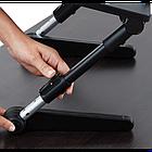 [ОПТ] Регульована підставка для ноутбука AirSpace з вентилятором. Стіл для ноутбука AirSpace з вентилятором, фото 7