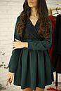 Платье с кружевным верхом и пышной юбкой 52py536, фото 4