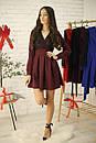 Платье с кружевным верхом и пышной юбкой 52py536, фото 5