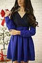 Платье с кружевным верхом и пышной юбкой 52py536, фото 6