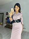 Платье миди с верхом на запах и рукавом 3/4 76py555, фото 2