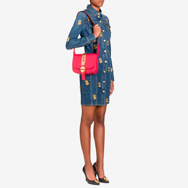 Женская сумочка Moschino Belt Shoulder Bag