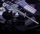 Брелок из игры PUBG M416 Assault Rifle Weapon Keychain, фото 8
