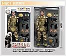 Игрушка солдат/swat 12 action figure, фото 2