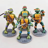 """Набор классических фигурок """"Черепашки Ниндзя"""", 4в1, 15 см - Ninja Turtles, TMNT"""