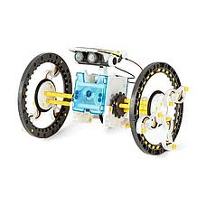 Конструктор робот Solar Robot 14 в 1 с солнечной панелью и моторчиком, фото 2