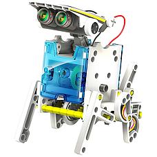 Конструктор робот Solar Robot 14 в 1 с солнечной панелью и моторчиком, фото 3