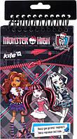 Набор открыток с бархатом + фломастеры Monster Hight Kite (MH14-219K)