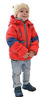 Куртка для мальчика от 3 до 6 лет в красном цвете