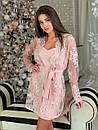 Женский костюм платье и кружевной кардиган 16ks372, фото 3