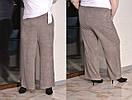 Ангоровые женские брюки клеш в больших размерах 10ba448, фото 2