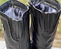 Ботинки женские зимние 8 пар в ящике черного цвета 37-42, фото 3
