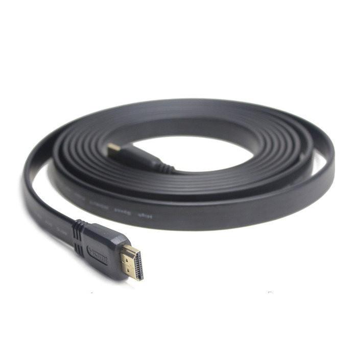 Кабель відео HDMI-HDMI плоский 3м (блістер)