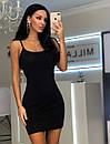 Платье из пайетки хамелеон на подкладе с разрезом на ноге 20plt510, фото 4