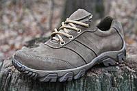Тактические кроссовки из натуральной кожи Бекас беж 19