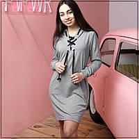 """Спортивное платье """"Серое"""" XXL"""