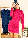 Платье с присобранной юбкой и вырезом на спине 36plt553, фото 2
