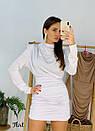 Платье с присобранной юбкой и вырезом на спине 36plt553, фото 3