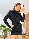 Платье с присобранной юбкой и вырезом на спине 36plt553, фото 4