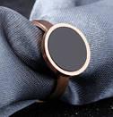 Кольцо розовое золото с фианитом размер 8, фото 5