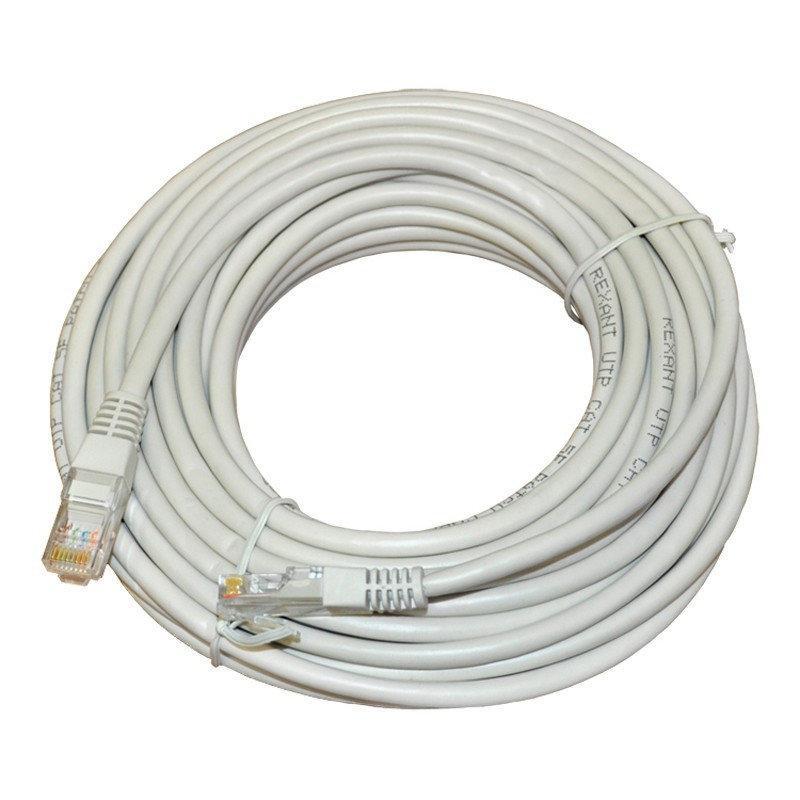 Кабель патч-корд UTP для интернета LAN 20m 13525-10
