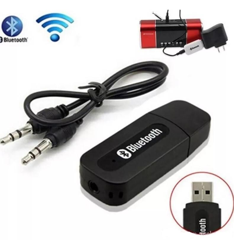 Аудіо ресивер приймач Bluetooth Music Reciver A/V ресивер Чорний