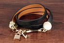 Женский кожаный браслет DeParis KEY & LOCK, фото 4