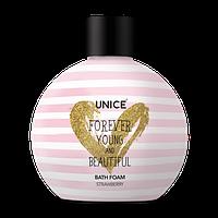 Піна для ванни з ароматом полуниці Unice, 250 мл