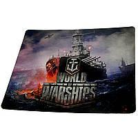 Килимок для мишки World of ships 2 (25*29*0.2), тканинні килимки, поверхню для лазерної миші