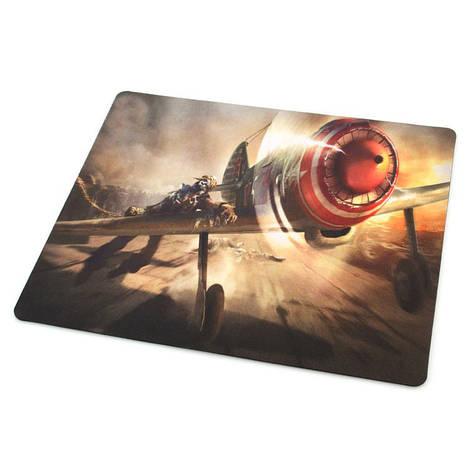 Килимок для мишки World of warplanes №2 (25*29*0.2), тканинні килимки, поверхню для лазерної миші, фото 2
