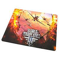 Коврик для мышки World of warplanes №3 (25*29*0.2), тканевые коврики, поверхность для лазерной мыши