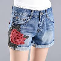 Женские джинсовые шорты AL7761, фото 1