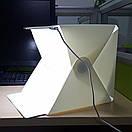 Фотобокс – лайтбокс с LED подсветкой для предметной съемки 40см, фото 3